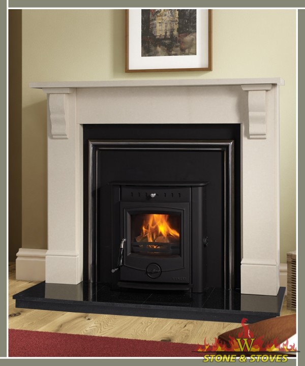 Plain tudor surround only stone stoves for Tudor fireplaces